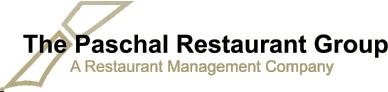 The Paschal Restaurant Group A Restaurant Management Company